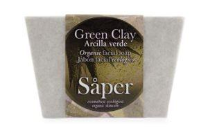 Jabón natural de arcilla verde- Såper