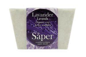 Jabón natural de lavanda- Såper